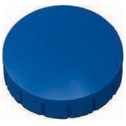 Maul aimant MAULsolid, diamètre 24 mm x 8 mm, bleu, boîte de 10 pièces