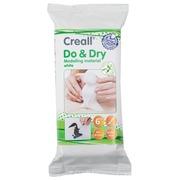 Creall Pâte à modeler Do & Dry blanc, paquet de 500 g