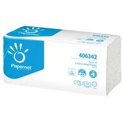 Papernet essuie-mains en papier Special, plié en V, 2 plis, 250 feuilles, blanc