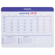 Mauspad + Monatskalender 2020 - 23 x 18 cm