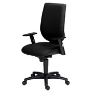 Nao Office Chair with Non-adjustable 1D Armrests Synchronous Blue/Black