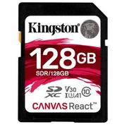 Kingston Canvas React - carte mémoire flash - 128 Go - SDXC UHS-I