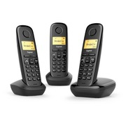 Telephone Gigaset A270 Trio - black