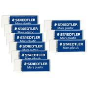 Pack 6 + 3 Mini-Radiergummis Mars plastic Staedtler