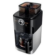 Philips Grind & Brew HD7767 - cafetière - Métallique/noir