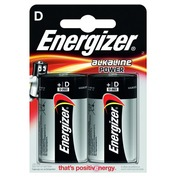 Blister van 2 batterijen LR20 Energizer Power