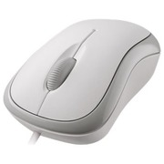 Microsoft Basic Optical Mouse for Business - Maus - PS/2, USB - weiß