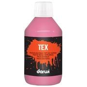 Darwi peinture textile Tex, 250 ml, rose