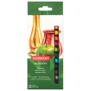 Derwent oliepastels Academy , blister van 12 stuks in geassorteerde kleuren