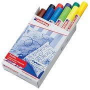 Edding feutre textile 4500, set de 10 pièces en couleurs assorties basiques