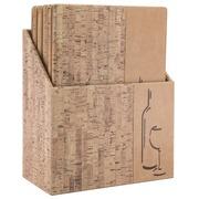 Securit wijnkaart Design, ft A4, Cork, doos met 10 stuks