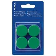 Maul aimant MAULsolid, diamètre 20 mm, vert, blister de 8 pièces