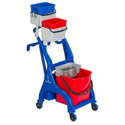 Compact cleaning cart Vega 307