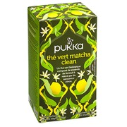 Green tea Matcha Clean Bio Pukka - box of 20 bags