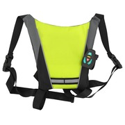 Safety jacket with LED lights and remote control