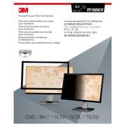 3M filtre de confidentialité avec cadre pour écrans de 19 pouces, 16:10