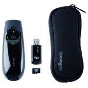 Kensington Presenter Expert Green Laser Presenter with Cursor Control and Memory presentation remote control - black