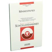 Bloc papier marqueur Schoellershammer A4 75g blanc