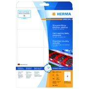 Etiket Herma 4575 99.1x67.7mm 160stuks wit