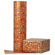 Rouleau pour appareil Brightsummer pois orange 200mx50cm