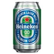 Bière Heineken 0.0 canette 0,33L