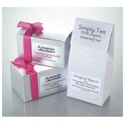 Avery étiquettes transparentes Crystal Clear ft 96 x 50,8 mm, 250 étiquettes, 10 par feuille
