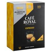 Capsules de café Café Royal Espresso - Boîte de 36