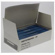 Fixe-dossiers, bleu, paquet de 25 pièces