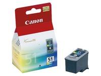 Cartridge 3 kleuren Canon CL-51