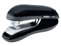 Stapler Rapid Flat Clinch F30 black capacity 30 sheets