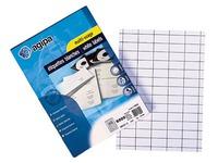 Box von 1600 Adressetiketten Agipa 119012 weiß 105 x 37 mm für Laser- und Tintenstrahldrucker