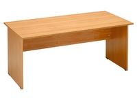 Desk, alder top 140 cm, full legs