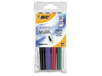 Bic Velleda, set of 4 whiteboard markers, medium tip 2 mm, assorted colours