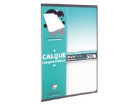 Bloc 50 calques satin Clairefontaine A3 90 - 95g