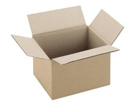 Carton Caisse américaine kraft brun simple cannelure L 16 x l 12 x H 11 cm