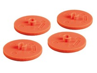 Set of 10 spare rings for perforator Rapid Duax 2 holes capacity 150 sheets