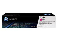 Toner HP 126A couleurs séparées