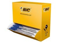 Pack de 90 stylos cristal Bic bleus + 10 offerts