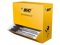 Paket von 90 Kulis Bic Cristal schwarz + 10 gratis