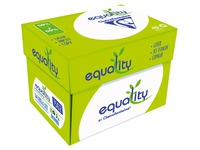 Box of recycled paper Clairefontaine Equality A4 80 g - 2500 sheets - white