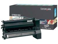 Toner Lexmark C782X1KG zwart