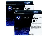 Pack van 2 toners HP 64XD zwart