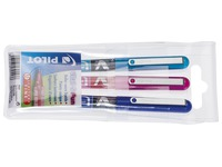 Rollerpen Pilot V-Ball fine - set of 3 fun colours