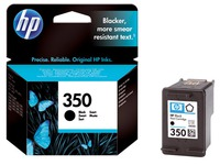 Cartridge HP 350 zwart