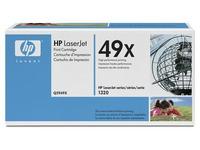 Cartridge laser zwart HP 49X - HP Q5949X hoge capaciteit