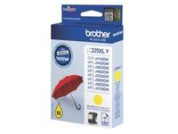 Cartridge Brother LC225XL hoge capaciteit geel voor inkjetprinter