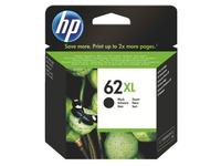 Cartridge HP 62XL hoge capaciteit zwart voor inkjetprinter