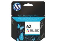 Cartridge HP 62 kleuren voor inkjetprinter