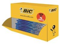 Pack de 35 stylos roller Bic cristal Gel à capuchon pointe 0,8 écriture moyenne + 5 offerts