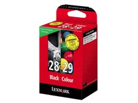 18C1520E LEXMARK TINTE (2) BLACK-COLOR (170035440102)